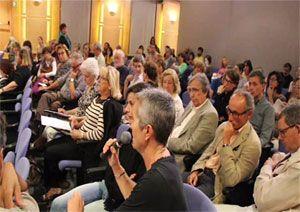 Presentació Plataforma per la Defensa de l'Atenció Pública en Salut Mental a Catalunya, públic