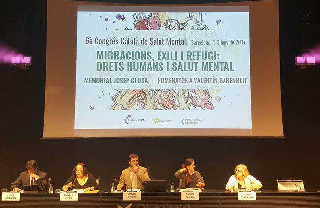 Acte inaugural del 6è Congrés Català de Salut Mental